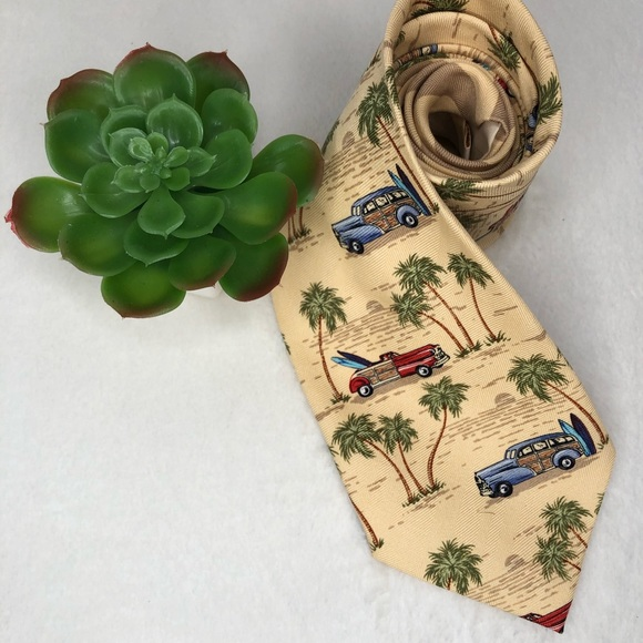 Tommy Bahama Other - Tommy Bahama Woody Print Tie